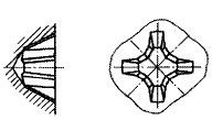 付図2115(1)H形(フィリップス形)