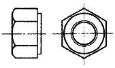付図2611 座付き六角ナット