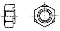 付図2628(1) 溶接ナット(六角溶接ナット)