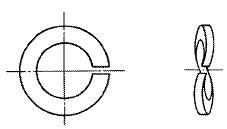 付図2712 波形ばね座金